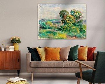 Landschaft, Renoir (1890)