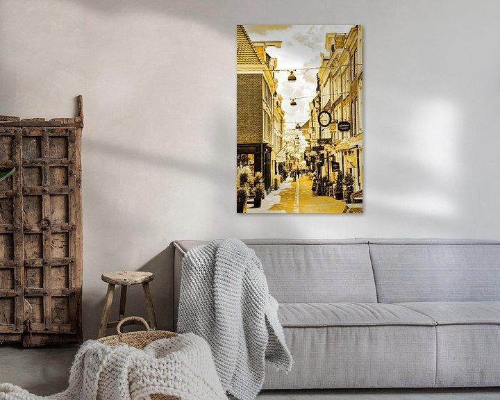 Beispiel: Innenstadt von Den Haag Niederlande Gold von Hendrik-Jan Kornelis