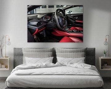 Lamborghini Huracan Evo Innenraum von Bas Fransen