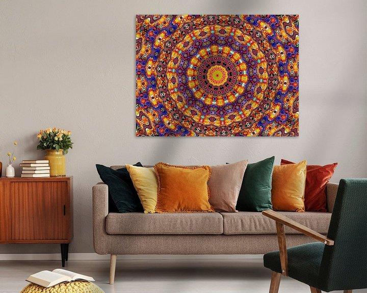 Sfeerimpressie: Exclusive Elegancy (Exclusieve Mandala of Rozet) van Caroline Lichthart