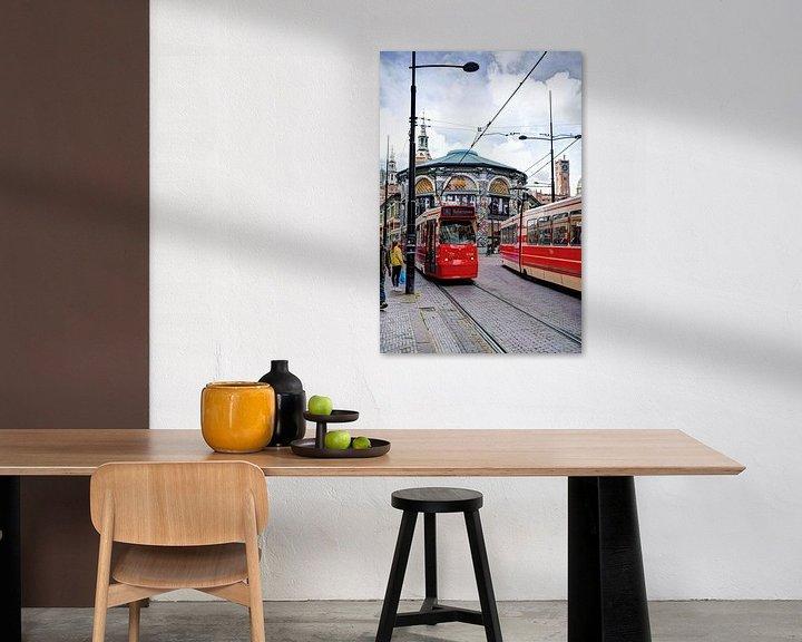 Beispiel: Innenstadt von Den Haag Niederlande von Hendrik-Jan Kornelis
