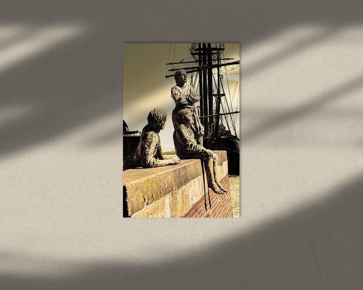 Sfeerimpressie: Hoorn Noord-Holland Nederland Jongens van Kapitein Bontekoe van Hendrik-Jan Kornelis
