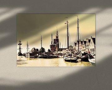 Hoorn Port North Holland Pays-Bas sur Hendrik-Jan Kornelis