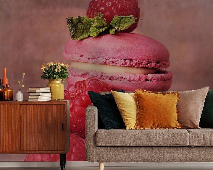 Sfeerimpressie behang: Delicious macarons van Rudy en Gisela Schlechter