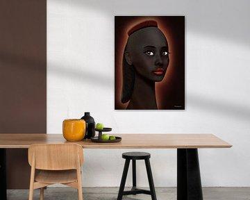 Mooi Zwart - Variatie van Ton van Hummel (Alias HUVANTO)