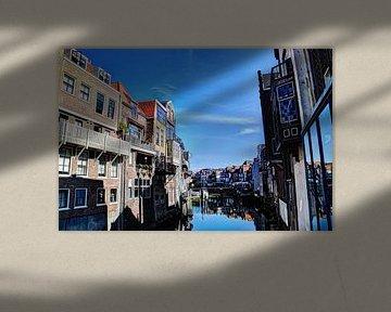 Dordrecht Wijnhaven von Scheffersplein Niederlande von Hendrik-Jan Kornelis