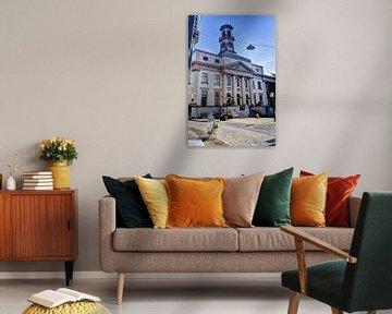 Rathaus der Stadt Dordrecht Niederlande von Hendrik-Jan Kornelis