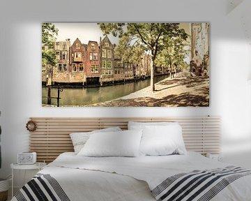 Binnenstad van Dordrecht Nederland Oud van Hendrik-Jan Kornelis