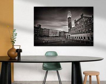 Siena - Piazza del Campo (Toskana) von Alexander Voss