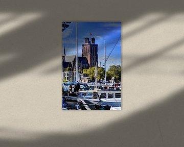 Liebfrauenkirche in Dordrecht Die Niederlande von Hendrik-Jan Kornelis