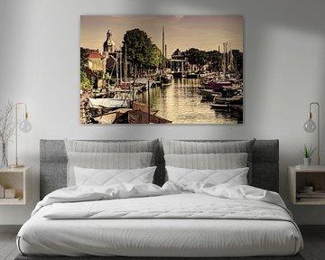 Hafen von Dordrecht Niederlande Alt von Hendrik-Jan Kornelis