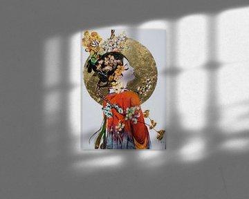 """japanischer Traum von Janny Schilderink......Atelier """"de Tuute """""""