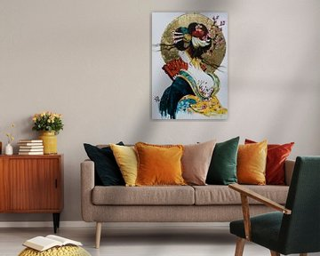 """Japanse droom 2 van Janny Schilderink......Atelier """"de Tuute """""""