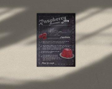 Recipe of Dessert - Summer Jelly van JayJay Artworks