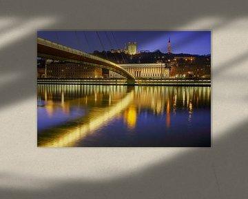 Lyon 's avonds van Patrick Lohmüller