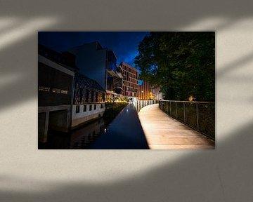 Osnabrück op het blauwe uur van Foto Oger