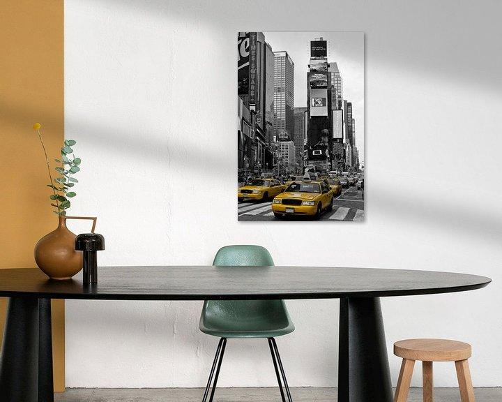 Sfeerimpressie: NEW YORK CITY Times Square  van Melanie Viola