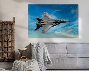 Boeing F-15 Eagle, USAF. sur Gert Hilbink