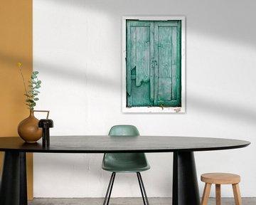 Oude verweerde houten deuren van Peter de Kievith Fotografie