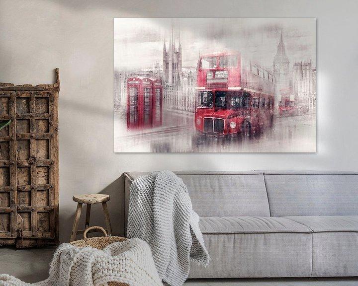 Sfeerimpressie: City-Art LONDON Westminster Collage van Melanie Viola