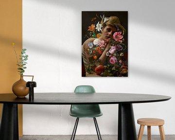 Stillleben Blumen von Rudy en Gisela Schlechter