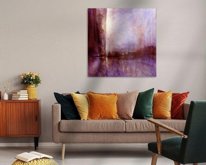 Beispiel: Blick nach Westen - rosa Horizonte von Annette Schmucker