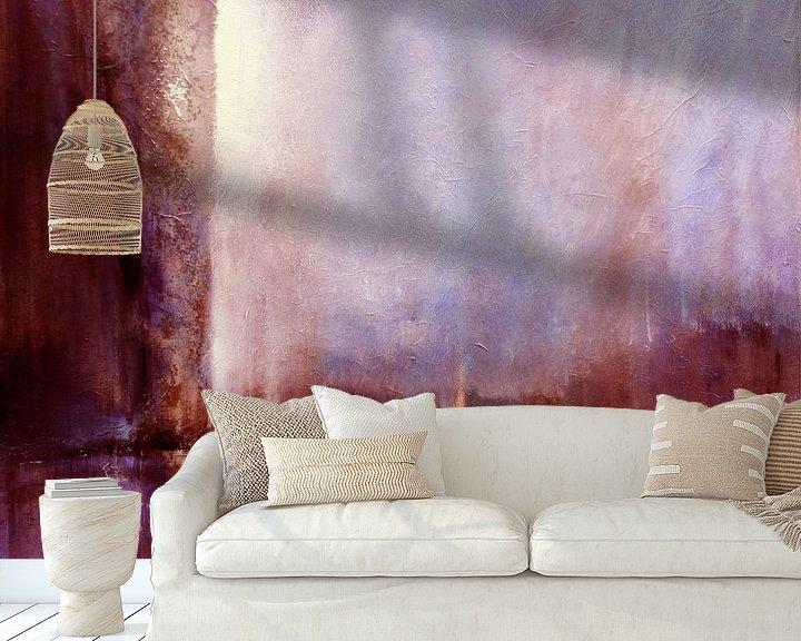 Beispiel fototapete: Blick nach Westen - rosa Horizonte von Annette Schmucker