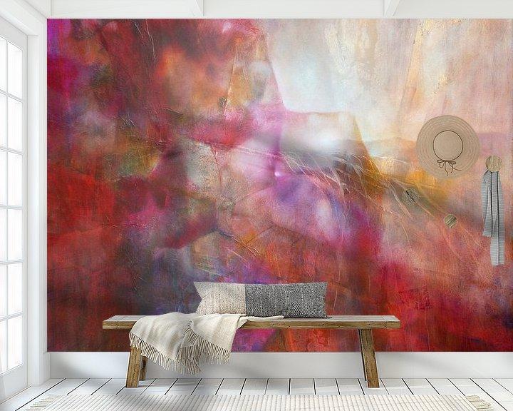 Beispiel fototapete: Drifting - abstrakte Komposition von Annette Schmucker