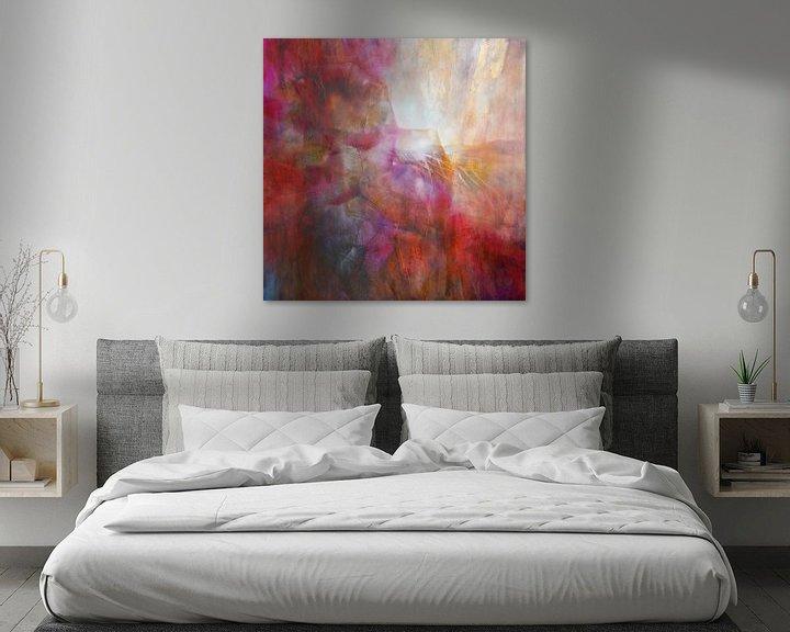 Beispiel: Drifting - abstrakte Komposition von Annette Schmucker