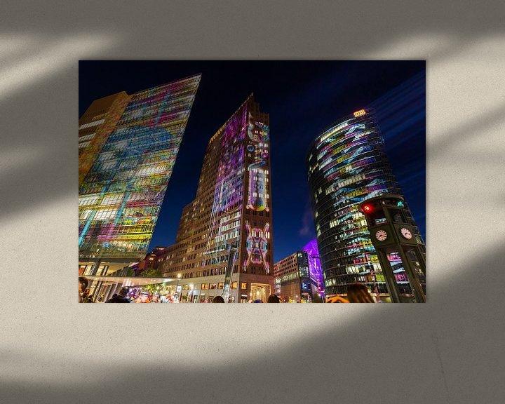 Impression: La Potsdamer Platz Sykline Berlin sous un jour particulier sur Frank Herrmann