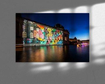 Le Bodemuseum de Berlin sous un éclairage particulier