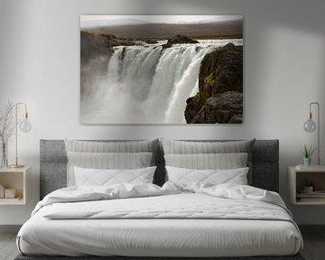 Godafoss - IJsland van Barbara Brolsma