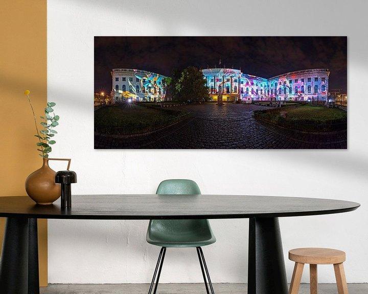 Impression: L'Université Humboldt de Berlin sous un jour particulier sur Frank Herrmann