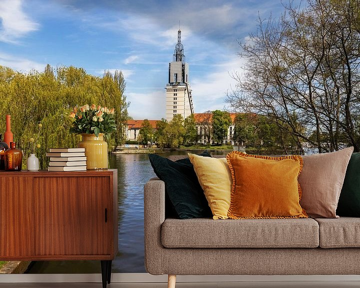 Impression: La ligne d'horizon de Potsdam sur la Havel sur Frank Herrmann