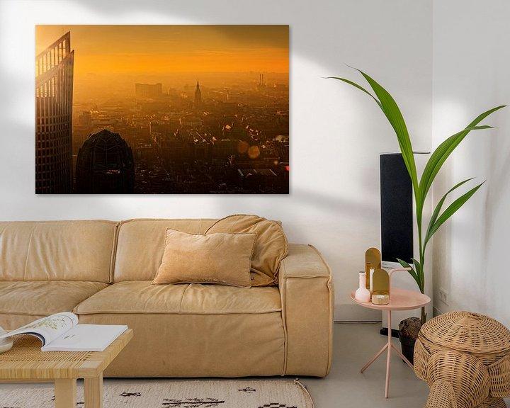 Sfeerimpressie: Den Haag van bovenaf van gaps photography