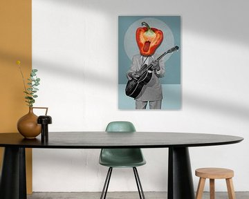 From the Pepper Heartclub Band sur Marja van den Hurk