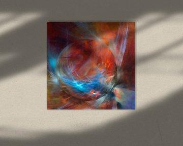 De rode knikker - beweging, licht en spel van Annette Schmucker