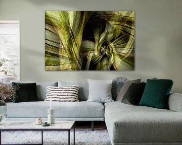 abstrakte Natur an der Wand von Klaartje Majoor