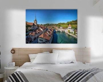De stad Bern van Manjik Pictures