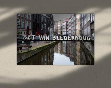 Amsterdam Brücke und Kanal von Inge van den Brande