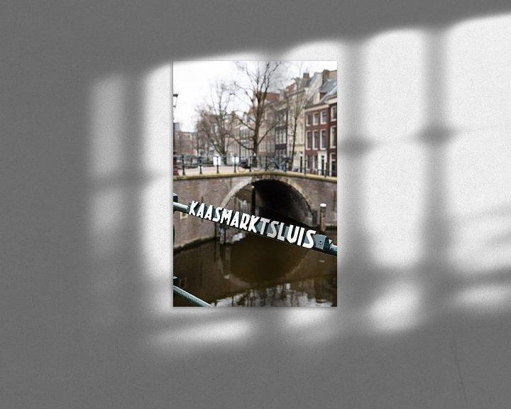 Beispiel: Amsterdam Brücke und Schleuse von Inge van den Brande