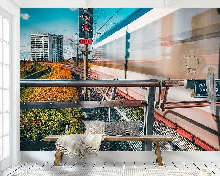 Impression: Station Oosterheem sur Chris Koekenberg