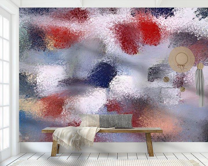 Impression: Abstrait Basse Pointillisme V sur Maurice Dawson