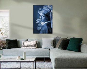 Meisje Met de Parel - the All is Blue Edition van Marja van den Hurk