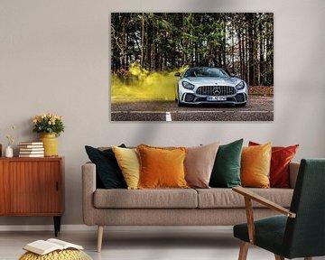 Mercedes-AMG GT R sur Bas Fransen