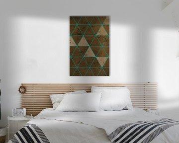 Geometrische Vormen - Abstracte Kunst van Studio Malabar