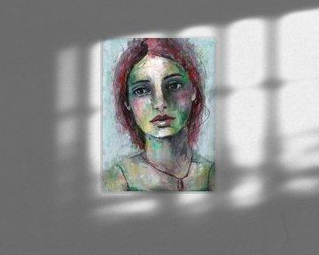 Kyra van Flow Painting