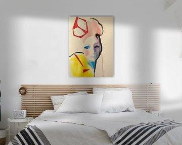 Rote Krone von Helia Tayebi Art