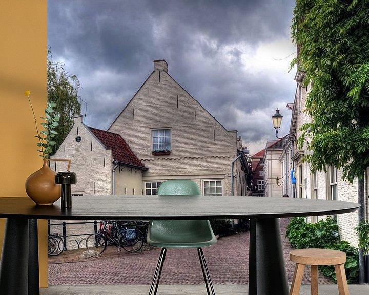 Impression: Muurhuizen historique Amersfoort sur Watze D. de Haan
