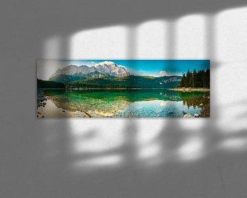 Eibsee Panorama von Martin Wasilewski